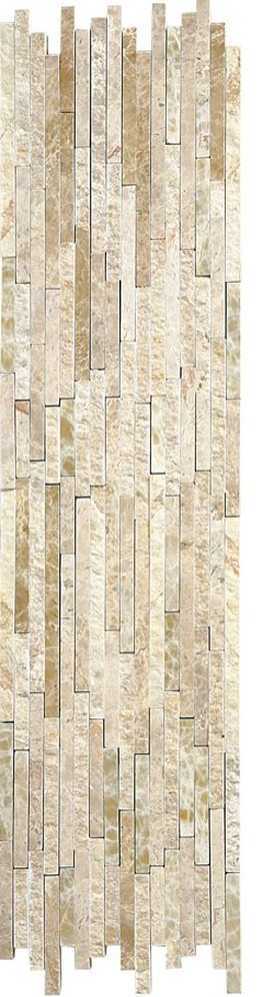 Marble Mosaic Emperador Light Natural Split Plus