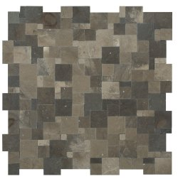 Magic Natural Stone Marble Mocha Brown 280x280 Sheet Honed Mosaic
