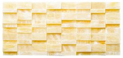 Great Wall Natural Stone Marble Golden Onyx 320x145 Sheet Honed Mosaic