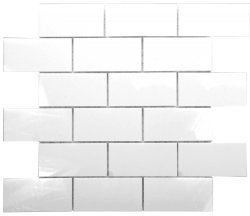 Milk Glass 150x75 Glossy Tiles