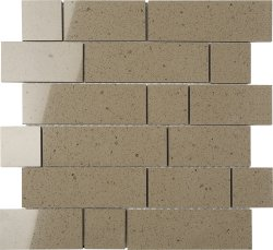 Everquartz Bushland Original Brick Polished Porcelain Mosaic