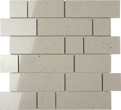 Everquartz Moonstone Original Brick Polished Porcelain Mosaic