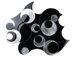 DREAMLANDS Crystal Glass Nero Glossy  mosaic