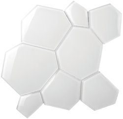 Crystal Mosaic Super White Water Cube