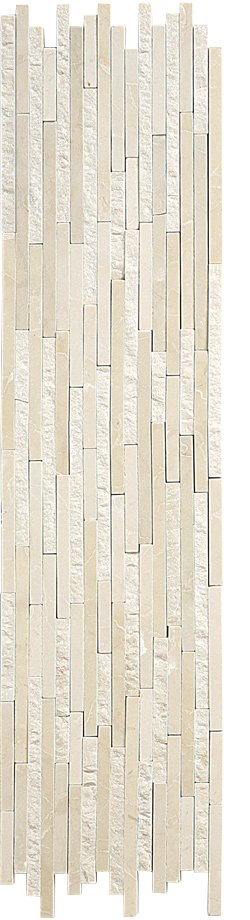 Marble Mosaic Botticino Natural Split Plus