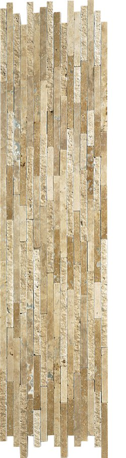 Marble Mosaic Travertine Noce Natural Split Plus