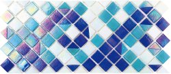 Pool Glass PIB-001C Border