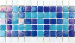 Pool Glass PIB-002A Border