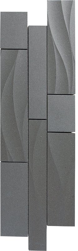 Durastone 3D Steel Grey Bloom-Bayline
